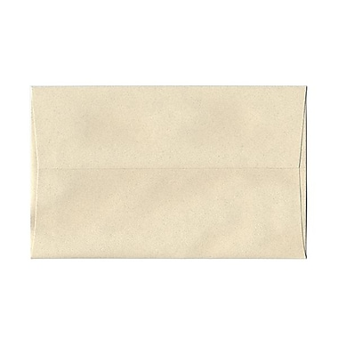 JAM Paper® A10 Invitation Envelopes, 6 x 9.5, Gypsum Ivory Recycled, 100/Pack (83793g)
