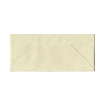 JAM Paper® #10 Business Envelopes, 4 1/8 x 9 1/2, Gypsum Recycled, 1000/carton (09222B)
