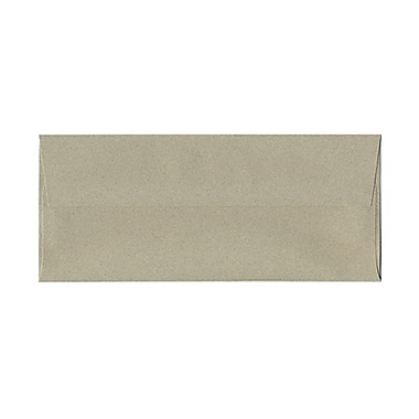 JAM Paper® #10 Business Envelopes, 4 1/8 x 9 1/2, Sage Green Recycled, 1000/carton (49306B)