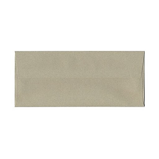 JAM Paper® #10 Business Envelopes, 4 1/8 x 9 1/2, Sage Green Recycled, 25/pack (49306)