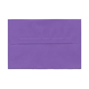 JAM Paper® A8 Invitation Envelopes, 5.5 x 8.125, Brite Hue Violet Purple Recycled, 1000/Pack (80286B)