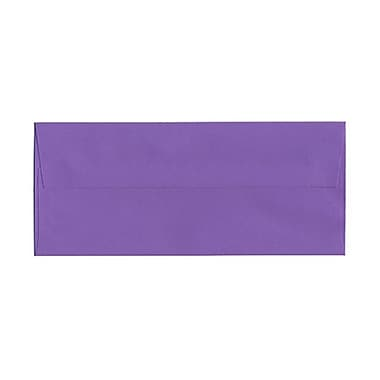 JAM Paper® #10 Business Envelopes, 4 1/8 x 9.5, Brite Hue Violet Purple Recycled, 100/Pack (15864g)