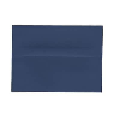 JAM PaperMD – Enveloppes format livret à fermeture gommée, 4 3/4 x 6 1/2 po, bleu présidentiel, paq./100
