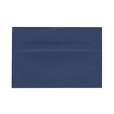 JAM Paper® A8 Invitation Envelopes, 5.5 x 8.125, Presidential Blue, 100/Pack (563916908g)