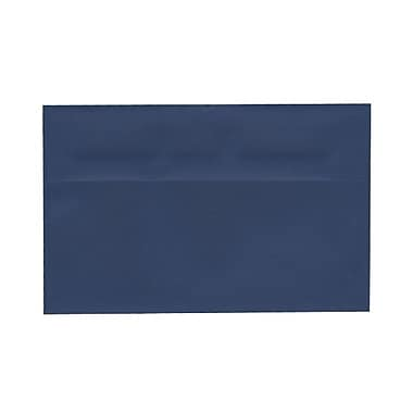 JAM Paper® A10 Invitation Envelopes, 6 x 9.5, Presidential Blue, 100/Pack (563916912g)