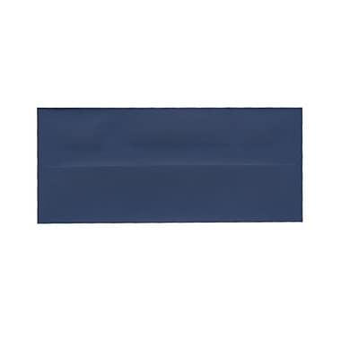 JAM PaperMD – Enveloppes format livret à fermeture gommée, 4 1/8 po x 9 1/2 po, bleu présidentiel