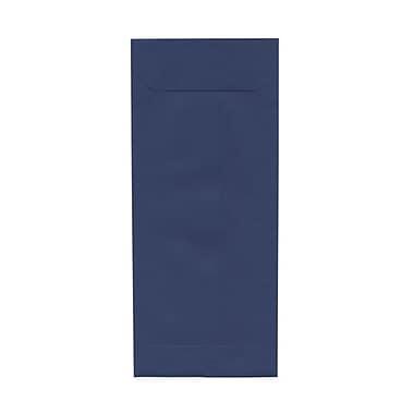 JAM PaperMD – Enveloppes à ouverture au sommet, fermeture gommée, 4 1/8 x 9 1/2 po, bleu présidentiel, paq./100