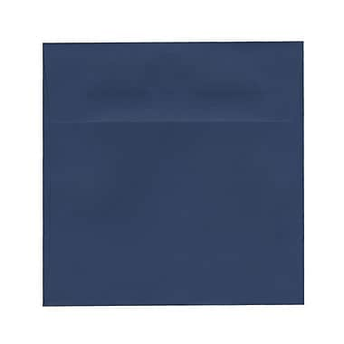 JAM Paper® 6 x 6 Square Envelopes, Presidential Blue, 100/Pack (563916914g)