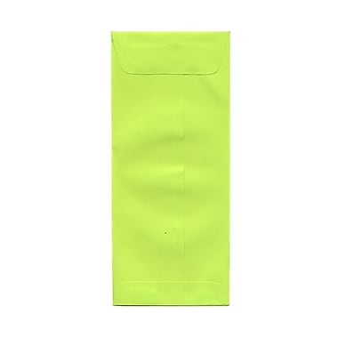 JAM Paper® #10 Policy Envelopes, 4 1/8 x 9.5, Brite Hue Ultra Lime Green, 1000/Pack (15870B)