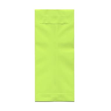 JAM Paper® #14 Policy Envelopes, 5 x 11.5, Brite Hue Lime Green, 1000/Pack (3156403B)