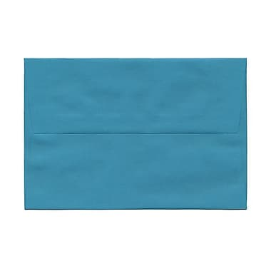JAM Paper A8 Invitation Envelopes, 5.5 x 8.125, Brite Hue Sea Blue Recycled, 1000/Pack (70231B)