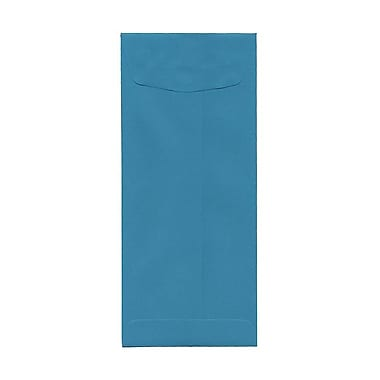 JAM Paper® #11 Policy Envelopes, 4.5 x 10.38, Brite Hue Sea Blue Recycled, 1000/Pack (3156395B)