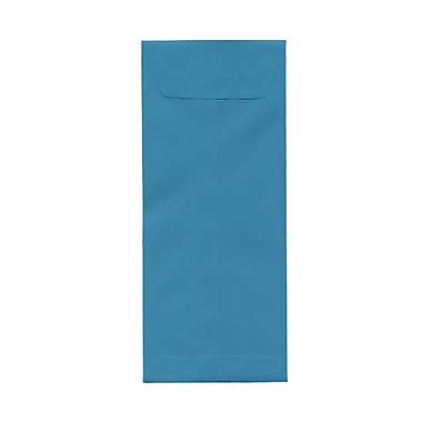 JAM Paper® #12 Policy Envelopes, 4.75 x 11, Brite Hue Sea Blue Recycled, 1000/Pack (3156397B)