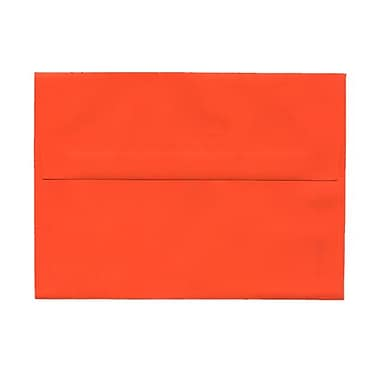 JAM Paper® A7 Invitation Envelopes, 5.25 x 7.25, Brite Hue Orange Recycled, 1000/Pack (95666B)