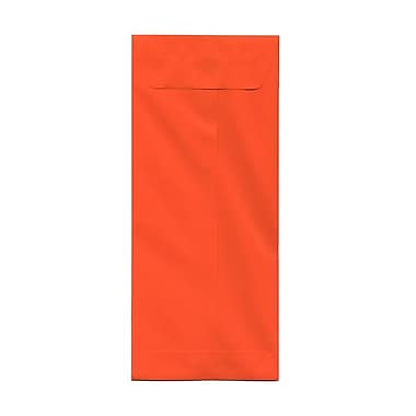 JAM Paper® #14 Policy Envelopes, 5 x 11.5, Brite Hue Orange Recycled, 100/Pack (3156405g)