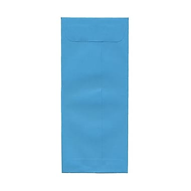 JAM Paper® #10 Policy Envelopes, 4 1/8 x 9.5, Brite Hue Blue Recycled, 1000/Pack (15880B)