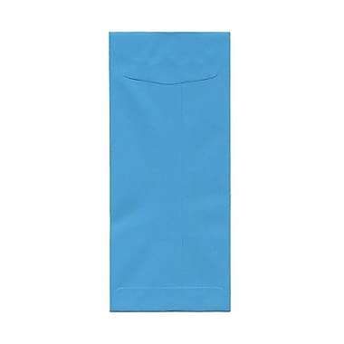 JAM Paper® #11 Policy Envelopes, 4.5 x 10.38, Brite Hue Blue, 100/Pack (3156390g)