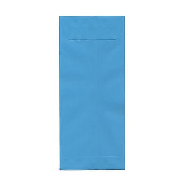 JAM Paper® #14 Policy Envelopes, 5 x 11.5, Brite Hue Blue Recycled, 100/Pack (3156407g)