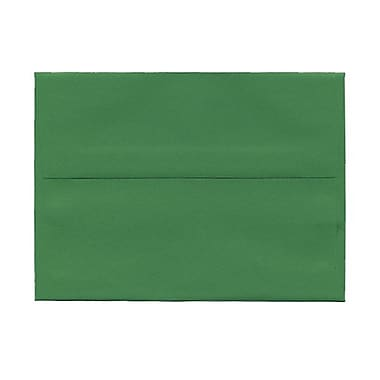 JAM Paper A6 Invitation Envelopes, 4.75 x 6.5, Brite Hue Green Recycled, 1000/Pack (67195B)
