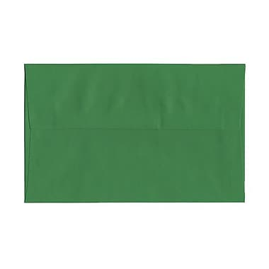 JAM Paper® A10 Invitation Envelopes, 6 x 9.5, Brite Hue Green Recycled, 1000/Pack (35633B)