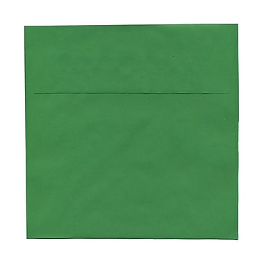 JAM Paper® 8.5 x 8.5 Square Envelopes, Brite Hue Green Recycled, 1000/Pack (2792295B)