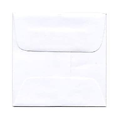 JAM Paper® 2 3/8 x 2 3/8 Mini Square Envelopes, White, 25/pack (3993004)