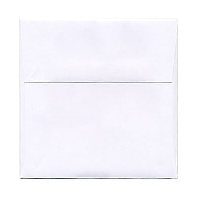 JAM Paper® 5 x 5 Square Envelopes, White, 1000/carton (28414C)