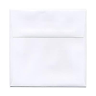 JAM Paper® 5.5 x 5.5 Square Envelopes, White, 25/pack (28415)