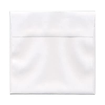 JAM Paper® 6.5 x 6.5 Square Envelopes, White, 25/pack (28417)