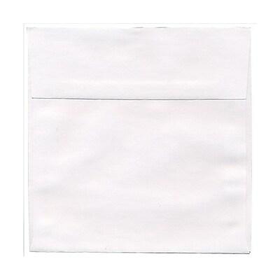 JAM Paper® 7 x 7 Square Envelopes, White, 25/pack (28209)