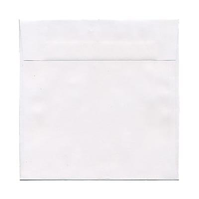 JAM Paper® 8 x 8 Square Envelopes, White, 25/pack (3992315)