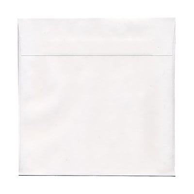 JAM Paper® 13.5 x 13.5 Large Square Envelopes, White, 100/pack (03992323B)