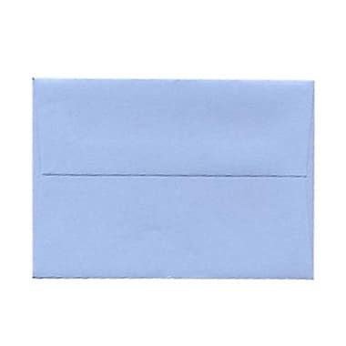 JAM Paper® 4bar A1 Envelopes, 3.63 x 5 1/8, Baby Blue, 100/Pack (155622g)