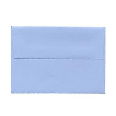 JAM PaperMD – Enveloppes livret pour invitations avec fermeture gommée, 3 5/8 x 5 1/8 po, bleu poudre, 1000/paquet