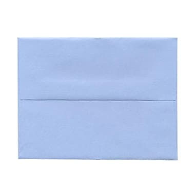 JAM Paper® A2 Invitation Envelopes, 4.38 x 5.75, Baby Blue, 100/Pack (155624g)
