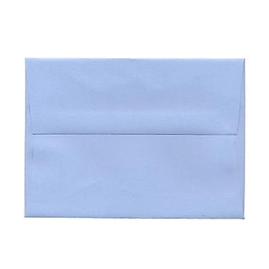 JAM Paper® A6 Invitation Envelopes, 4.75 x 6.5, Baby Blue, 100/Pack (155626g)