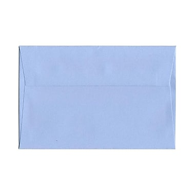 JAM Paper® A8 Invitation Envelopes, 5.5 x 8.125, Baby Blue, 100/Pack (155630g)