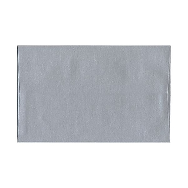 JAM Paper® A9 Invitation Envelopes, 5.75 x 8.75, Stardream Metallic Silver Pearlized, 100/Pack (211817120g)