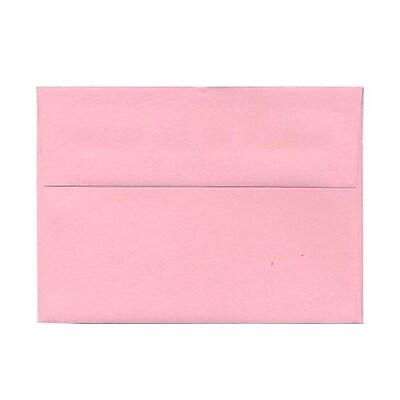 JAM Paper® A7 Invitation Envelopes, 5.25 x 7.25, Baby Pink, 1000/carton (155627B)
