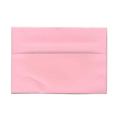 JAM Paper® A9 Invitation Envelopes, 5.75 x 8.75, Baby Pink, 25/pack (155698)