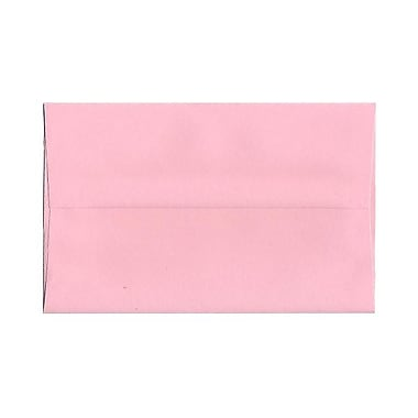JAM Paper® A10 Invitation Envelopes, 6 x 9.5, Baby Pink, 25/pack (155688)