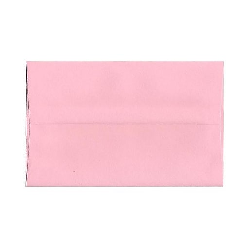 jam paper a10 invitation envelopes 6 x 9 5 baby pink 1000 carton