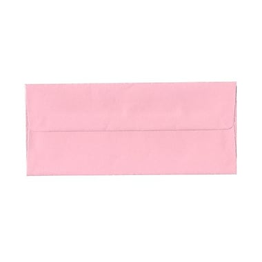 JAM Paper® #10 Business Envelopes, 4 1/8 x 9.5, Baby Pink, 100/Pack (2155777g)