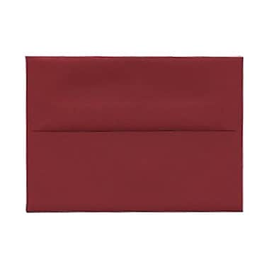 JAM Paper® 4bar A1 Envelopes, 3.63 x 5 1/8, Dark Red, 1000/Pack (5157437B)