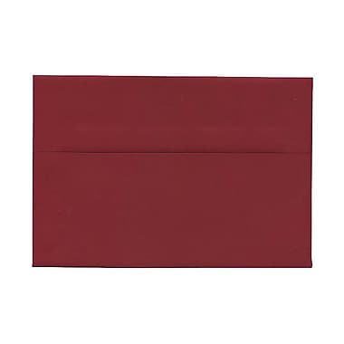 JAM Paper® A8 Invitation Envelopes, 5.5 x 8.125, Dark Red, 1000/Pack (31511319B)