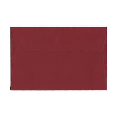 JAM Paper® A9 Invitation Envelopes, 5.75 x 8.75, Dark Red, 100/Pack (31511321g)