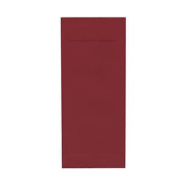 JAM Paper® #10 Policy Envelopes, 4 1/8 x 9.5, Dark Red, 100/Pack (31511300g)