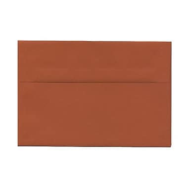 JAM Paper® A8 Invitation Envelopes, 5.5 x 8.125, Dark Orange, 1000/Pack (61511362B)