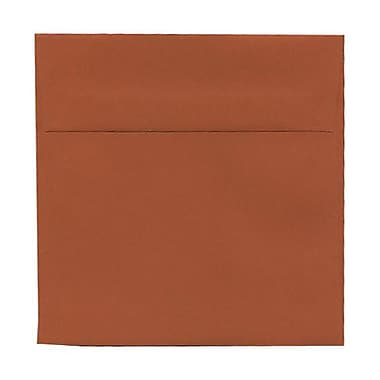 JAM Paper® 6 x 6 Square Envelopes, Dark Orange, 1000/Pack (61511346B)
