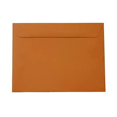 JAM Paper® 9 x 12 Booklet Envelopes, Dark Orange, 1000/carton (61511366B)